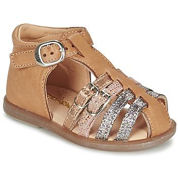 Sapatos Rapariga Sabrinas Babybotte TWIX Camel
