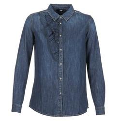 Textil Mulher camisas Diesel DE KELLY Azul