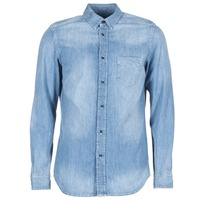 Textil Homem Camisas mangas comprida Diesel D CARRY Azul
