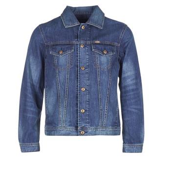 Textil Homem casacos de ganga Diesel NHILL Azul