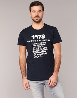 Textil Homem T-Shirt mangas curtas Diesel T DIEGO NB Preto