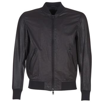 Textil Homem Casacos de couro/imitação couro Diesel L POWELL Preto