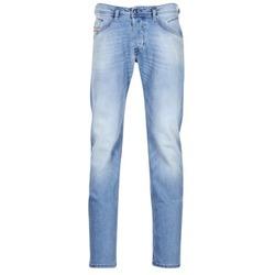Textil Homem Calças Jeans Diesel BELTHER Azul