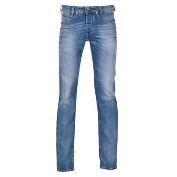 Textil Homem Calças de ganga slim Diesel AKEE Azul