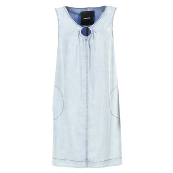 Textil Mulher Vestidos curtos Diesel DE ISBEC Azul