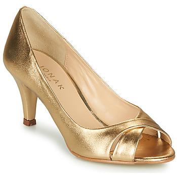 Sapatos Mulher Escarpim Jonak DIANE Dourado