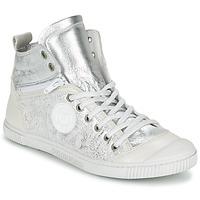 Sapatos Mulher Sapatilhas de cano-alto Pataugas BANJOU/MT F2C Prata