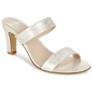 Sapatos Mulher Chinelos Perlato ADINILE Prata