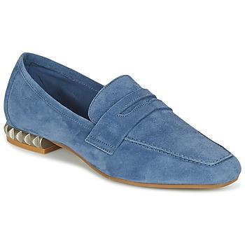 Sapatos Mulher Mocassins Perlato KAMINA Azul