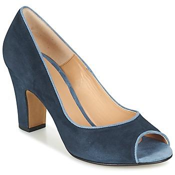 Sapatos Mulher Escarpim Perlato CHEFINE Azul