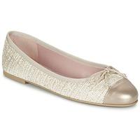 Sapatos Mulher Sabrinas Pretty Ballerinas AMI Ouro / Rosa