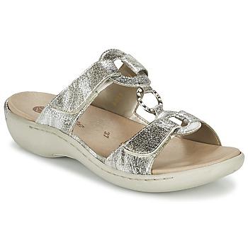 Sapatos Mulher Chinelos Remonte Dorndorf TARDESSO Prata