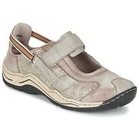 Sapatos Mulher Sapatilhas Rieker BIOLORATEIL Toupeira