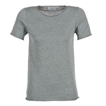 Textil Mulher T-Shirt mangas curtas Casual Attitude GENIUS Cinza
