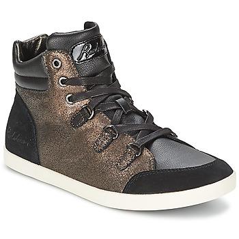 Sapatos Mulher Sapatilhas de cano-alto Redskins CADIX Preto / Bronze