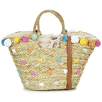 Malas Mulher Cabas / Sac shopping Pepe jeans MARLEY Bege / Multicolor