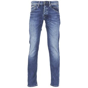 Textil Homem Calças Jeans Pepe jeans TRACK Azul