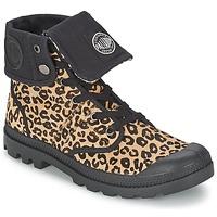 Sapatos Mulher Botas baixas Palladium BAGGY PN Leopardo