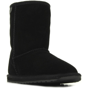 Sapatos Rapariga Botas baixas EMU Wallaby Lo Noir Preto
