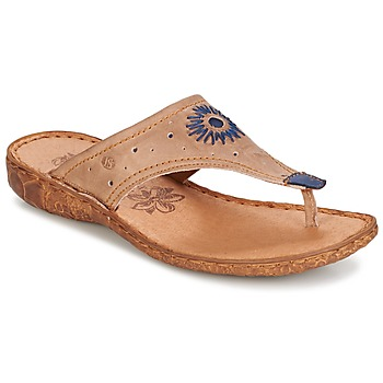 Sapatos Mulher Chinelos Josef Seibel ROSALIE 01 Toupeira