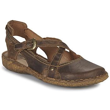 Sapatos Mulher Sandálias Josef Seibel ROSALIE 13 Castanho