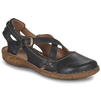 Sapatos Mulher Sandálias Josef Seibel ROSALIE 13 Preto