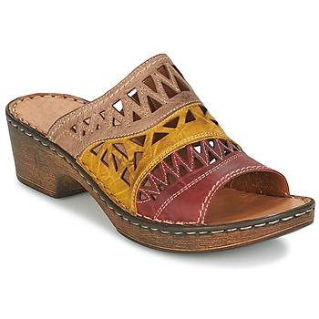 Sapatos Mulher Chinelos Josef Seibel REBECCA 43 Multicolor