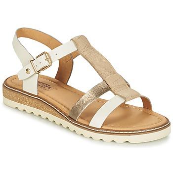 Sapatos Mulher Sandálias Pikolinos ALCUDIA W1L Prata