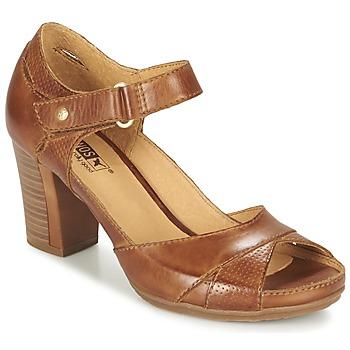 Sapatos Mulher Sandálias Pikolinos JAVA W0K Castanho