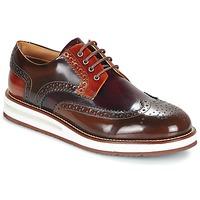 Sapatos Homem Sapatos Barleycorn AIR BROGUE Castanho / Bordô