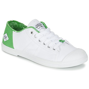 Sapatos Mulher Sapatilhas Le Temps des Cerises BASIC 02 Branco / Verde