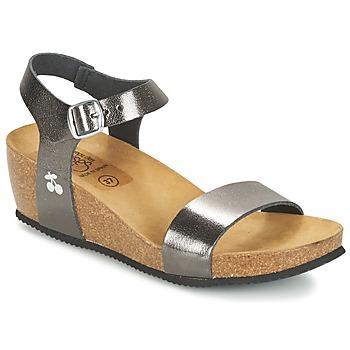 Sapatos Mulher Sandálias Le Temps des Cerises ASTRID Cinza