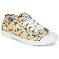 Sapatos Rapariga Sapatilhas Le Temps des Cerises BASIC 02 Amarelo