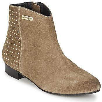 Sapatos Mulher Botas baixas Les Tropéziennes par M Belarbi LEANA Toupeira