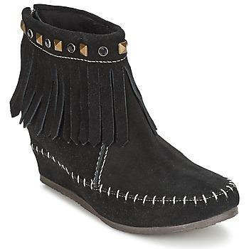 Sapatos Mulher Botas baixas Les Tropéziennes par M Belarbi BOLIVIE Preto