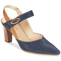 Sapatos Mulher Escarpim France Mode PASTEL SE TA Castanho / Azul