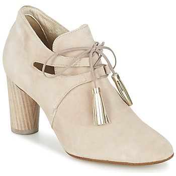 Sapatos Mulher Botas baixas France Mode NANIE SE TA Bege