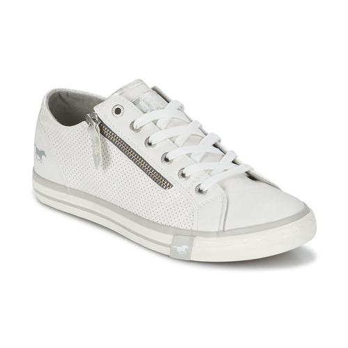 Sapatos Mulher Sapatilhas Mustang RADU Branco