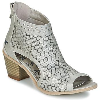 Sapatos Mulher Botins Mustang CRAIDOU Prateado