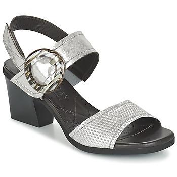 Sapatos Mulher Sandálias Hispanitas DADOMPI Prata