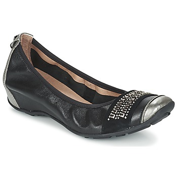 Sapatos Mulher Sabrinas Mam'Zelle FADILA Preto / Prata