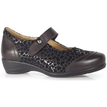 Sapatos Mulher Sabrinas Calzamedi CASUAL VELCRO MARROM