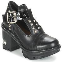 Sapatos Mulher Botas baixas New Rock DEZDO Preto