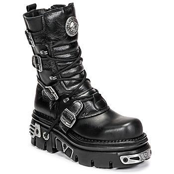 Sapatos Botas baixas New Rock NEMESIS Preto