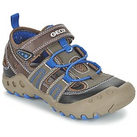 Sapatos Rapariga Sandálias Geox J SAND.KYLE A Castanho