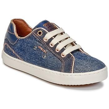 Sapatos Rapariga Sapatilhas de cano-alto Geox J KIWI G. B Ganga