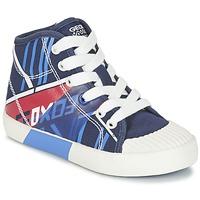 Sapatos Rapaz Sapatilhas de cano-alto Geox J KIWI B. E Marinho