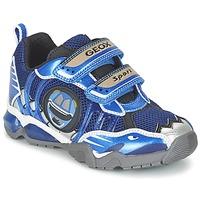 Sapatos Rapaz Sapatilhas Geox J SHUTTLE B. B Marinho