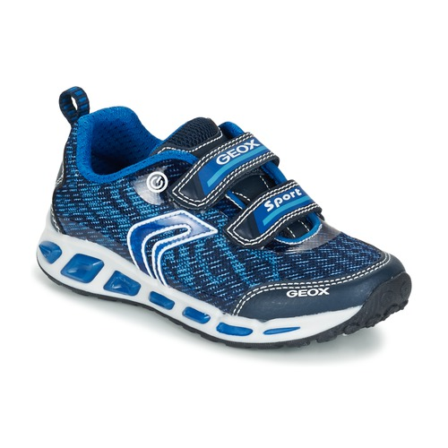 Sapatos Rapaz Sapatilhas Geox J SHUTTLE B.A Marinho