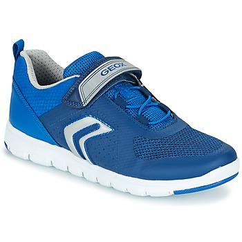 Sapatos Rapaz Sapatilhas Geox J XUNDAY B. B Marinho